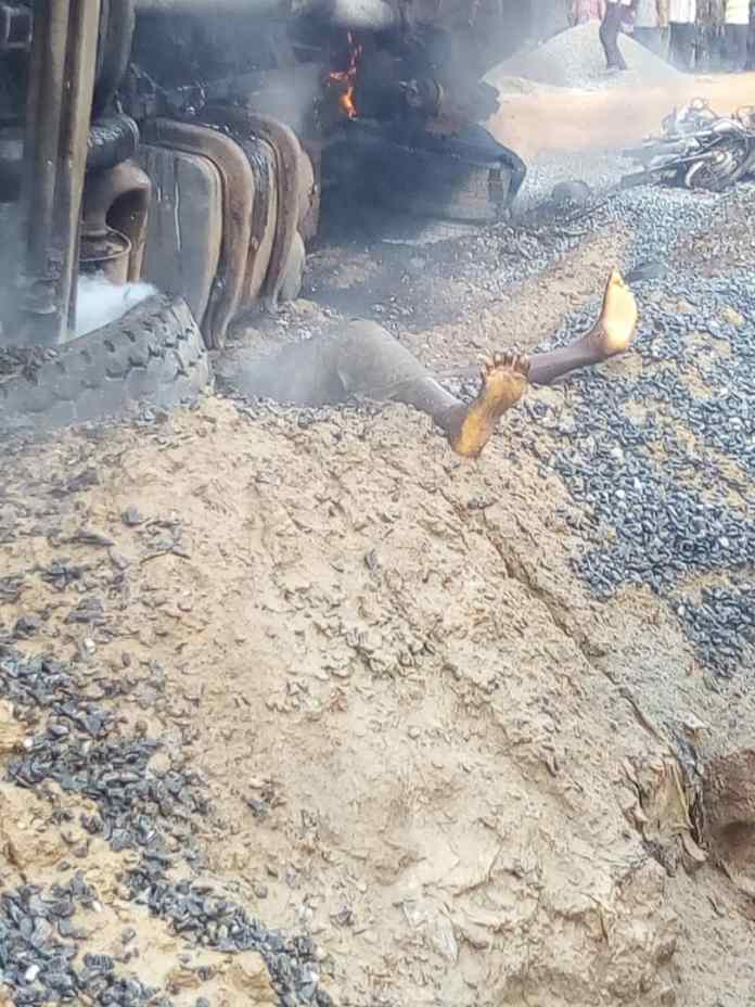 Two died, several injured as petroleum tanker burst into flame in Ibadan