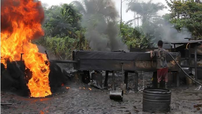 Revealed! How Nigerian Navy destroyed 2,287 illegal refineries between in 4 years