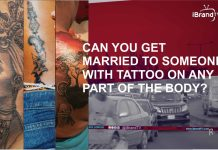Can You Marry Someone With Tattoo