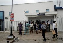 Just In: Customers revive man who collapse at ATM stand in Delta