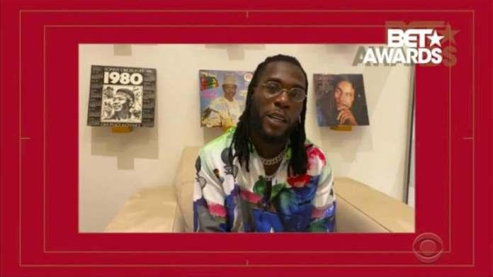 2020 BET Awards: Lists of winners including Nigeria's Burna Boy