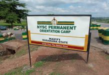 Nasarawa Govt converts NYSC camp to COVID-19 isolation centre