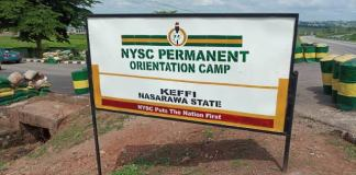 Nasarawa Govt converts NYSC camp to COVID-19 isolation centre