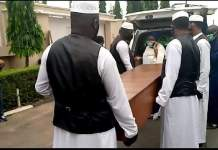 Just In: Abiola Ajimobi laid to rest amid tight security