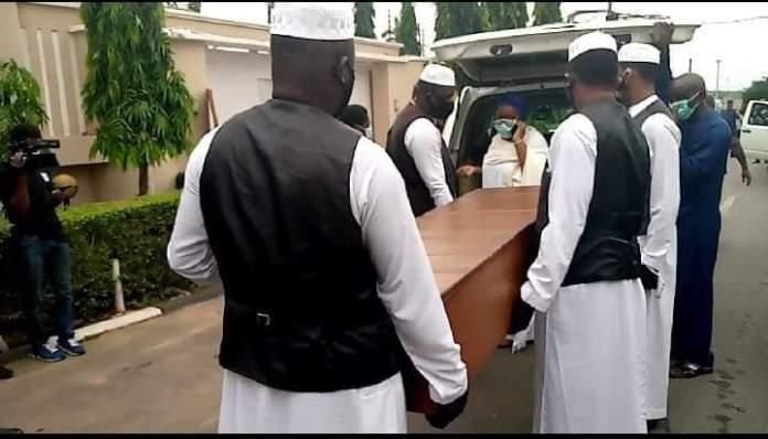 Photo Story: Late Senator Abiola Ajimobi finally laid to rest in Oyo
