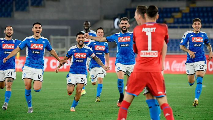 Napoli wins Coppa Italia after defeating Juventus on penalties