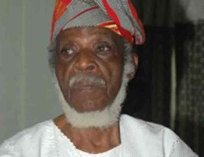 Just In: Senator Fasanmi, Yoruba leaders is dead