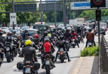 19,000 bikers protest against German noise reduction initiative