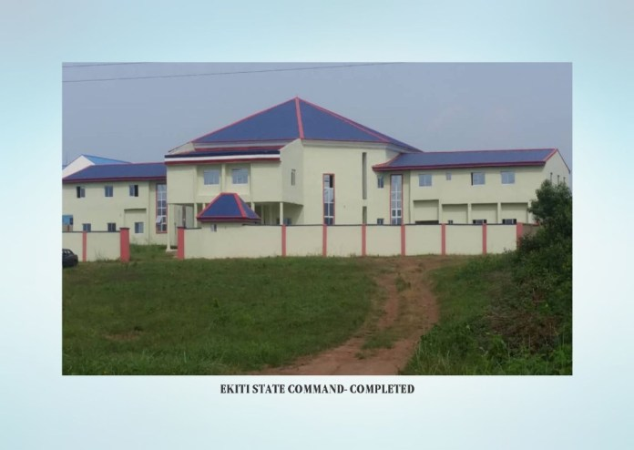 Hardship in Nigeria: 13 NSCDC Commands get new office complexes