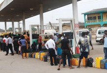 Breaking: NNPC blames EndSars protests, as petrol queues return