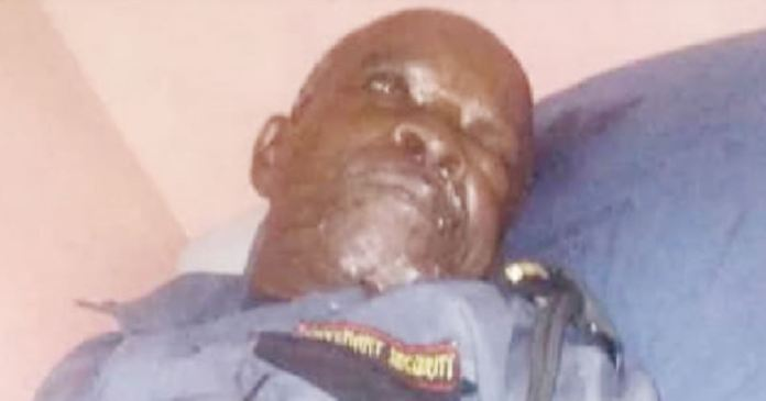 How security guard, 77, died after been brutalised by cab driver in Surulere