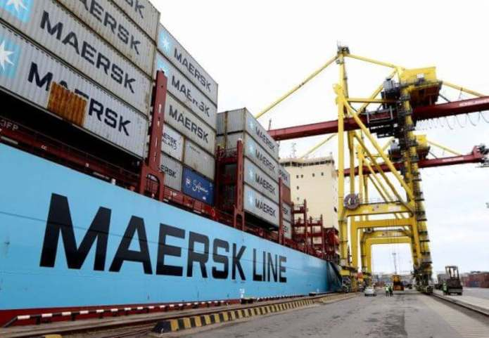 Maersk begins shipping operations from China directly to Onitsha