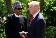 Shocking! Donald Trump congratulates Buhari for banning Twitter in Nigeria