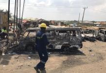 Updated: 2 dead, 23 vehicles burnt as tanker explosion rocks Lagos-Ibadan Expressway