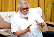 Just In: Ex-Ghanaian President, Jerry Rawlings dies of COVID-19 complications