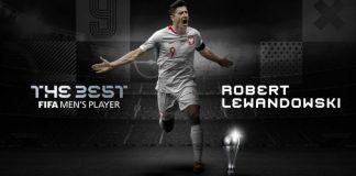 Lewandowski Beats Messi, Ronaldo To FIFA Best Men's Award