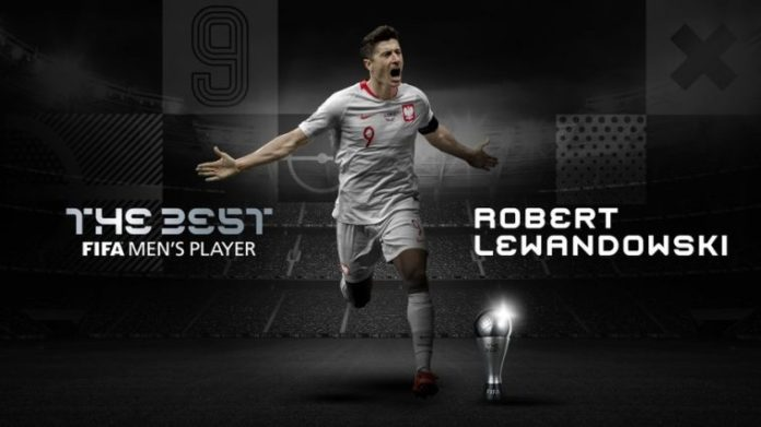 Lewandowski Beats Messi, Ronaldo To FIFA Best Men's Award