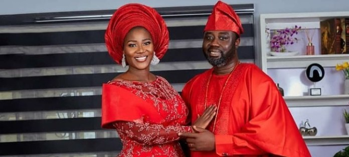 Mercy Johnson Finally Dedicate Newborn Daughter