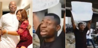 Reactions As Regina Daniels Fans Protest Against Ned Nwoko Marrying Another Wife