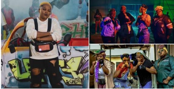 Funke Akindele, Eniola Badmus, Chioma Akpotha, Bimbo Thomas Show Rap Skills In Omo Ghetto Music Video