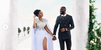 BBNaija Stars Khafi And Gedoni Finally Ties The Knot