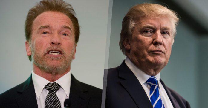 Schwarzeneggar Passes Damning Verdict On Donald Trump