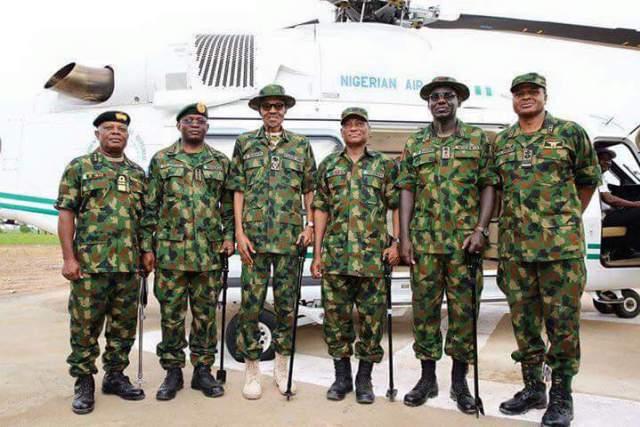 Breaking: President Muhammadu Buhari replaces Service Chiefs