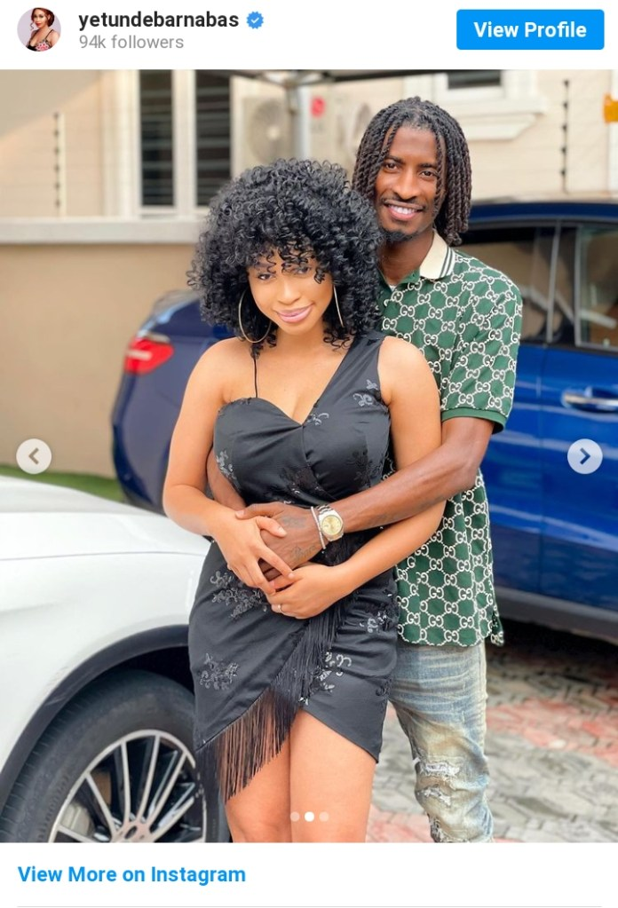 Miss Pepeye Of Papa Ajasco Shows Off Her Man, Says He's Everything She Wants