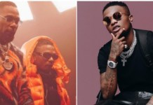 Burna Boy's PA Slam Wizkid Fans, Says There Is Only One King
