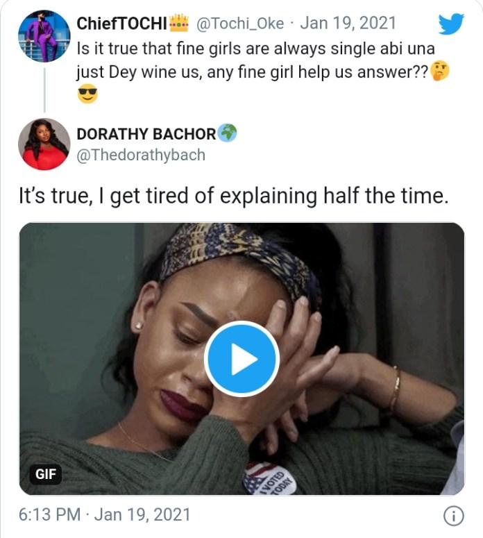 BBNaija's Dorathy Breaks 'Prido' Shippers Heart After Revealing She's Single
