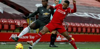 Man U, Liverpool Play Out Barren Draw At Anfield