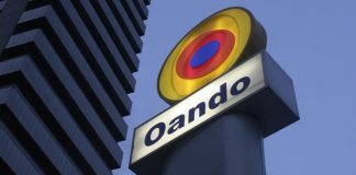 Oando rallies on NSE, lifts market indices by 0.14%