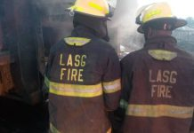 Otedola Bridge Fire Leaves Seven Buses Burnt