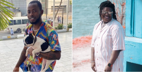 Barry Jhay Finally Cleared Of Murder Allegations By Ghanaian Police, Posts CCTV Footages As Evidence