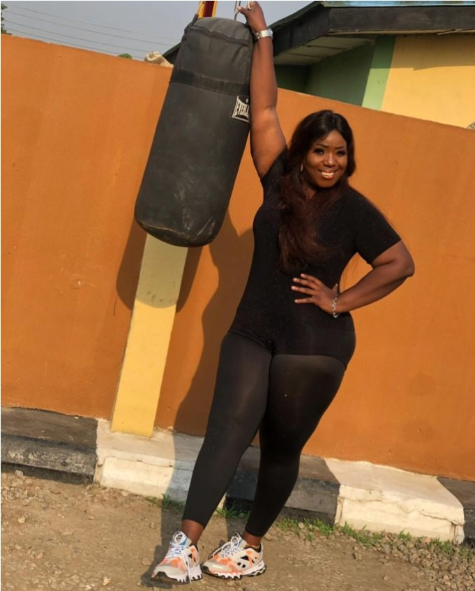 Comedienne Lepacious Bose Vows Not To Go Back To Her Former Size, Checkout Her Recent Photos