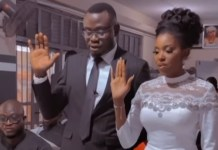 Actress, Biola Adebayo Finally Ties The Knot With Her Lover
