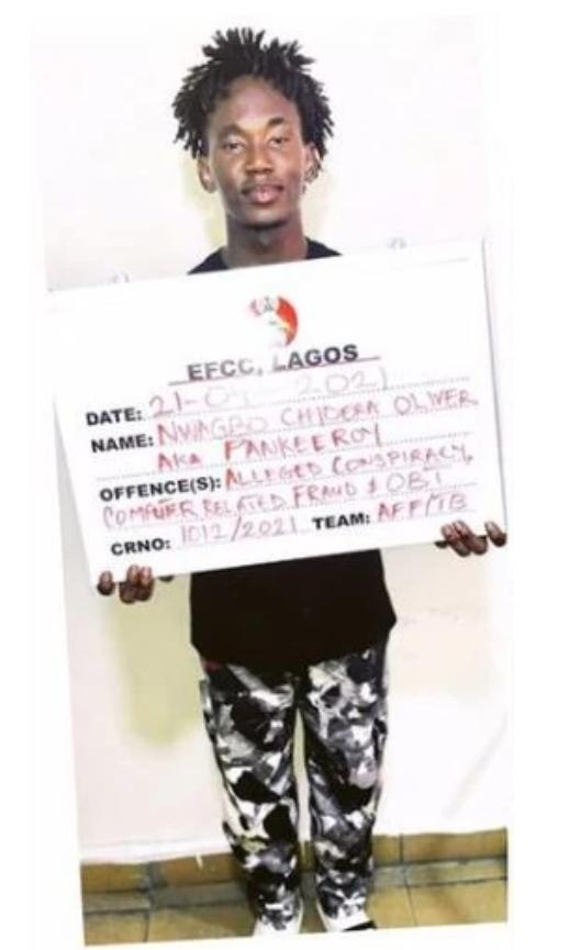 EFCC Arrests Comedian Pankeeroy, Others Over Alleged Internet Fraud