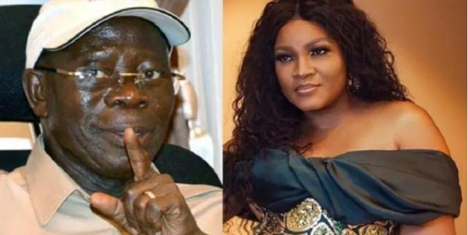 Actress Omotola Jalade Finally Clears The Air On Alleged Secret Affair With Adams Oshiomole
