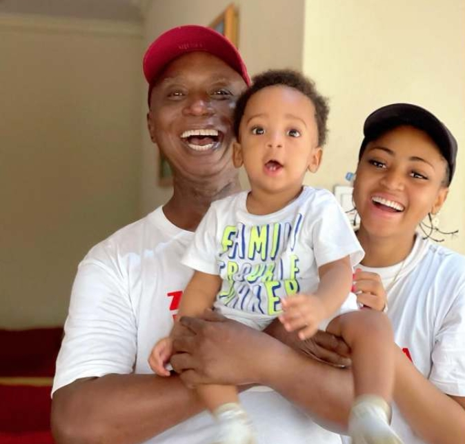 Actress Regina Daniels And Husband Ned Nwoko Celebrate Their Son Munir At 10 Months