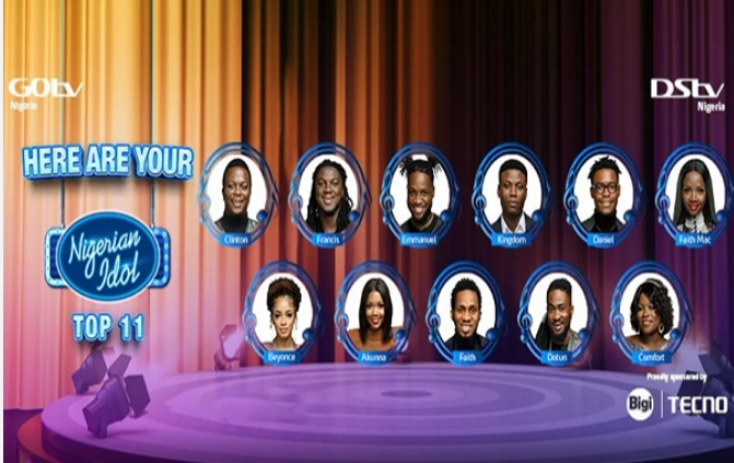 Meet The 11 Contestants Battling To Become The Next Nigerian Idol