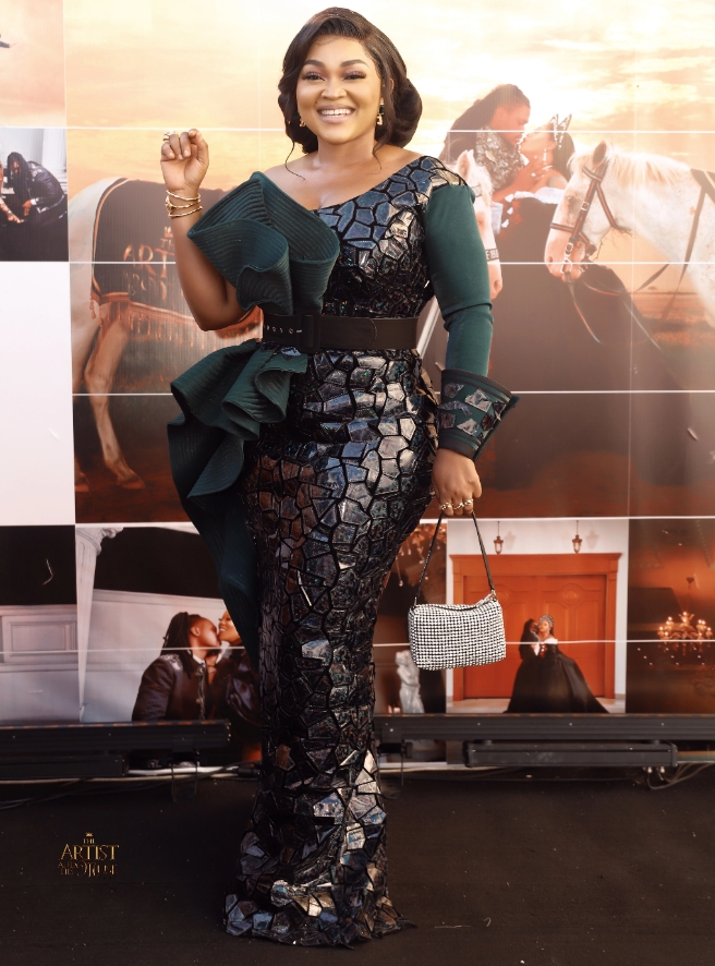 Checkout Lovely Photos From The Wedding Ceremony Of Toyin Lawani, Fiance