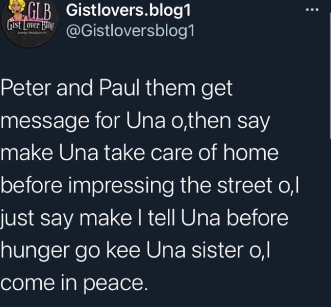 Peter & Paul Okoye Called Out As Their Sister Becomes Street Beggar