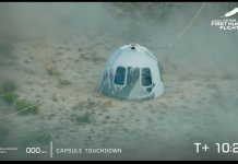Jeff Bezos, Others Complete 11-Minute Near-Space Mission