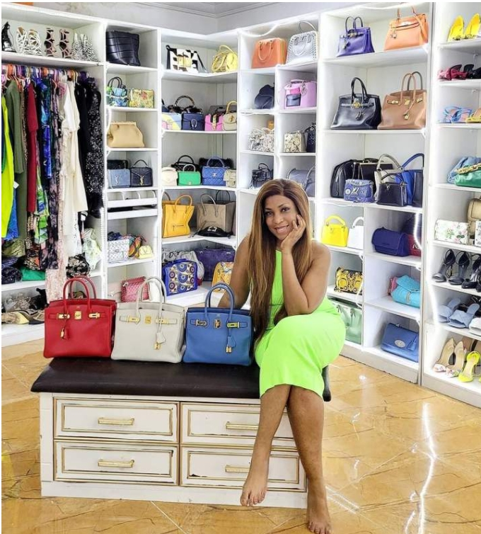 Linda Ikeji Acquires Designer Bags Worth N30M
