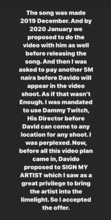 Davido Dragged By Record Label For Alleged Extortion