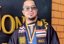 Actor Van Vicker Graduates From University After 24 Years