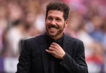Simeone Extends Contract To Stay At Athletico Till 2024