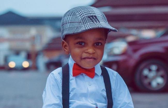 Toyin Abraham Shares Cute Photos Of Son As He Clocks 2