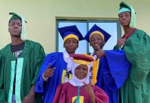Ikorodu Bois Appreciate Billionaire Femi Otedola, DJ Cuppy As They Graduate Into New Classes