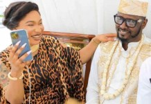Shocking! Tonto Dikeh's new lover caught having s£x with sidechick